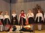 A Művelődési házban rendezett meghitt Falukarácsony ünnepség képei - 2009.dec. 22-én.