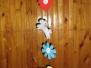 Kézműves foglalkozás a Művelődési Házban, 2009.04.08.